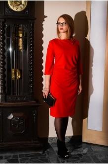 Вечерние платья Ладис Лайн 679 красный  фото 1