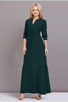 Длинные платья Lady Secret 3332 темно-зеленый фото 1