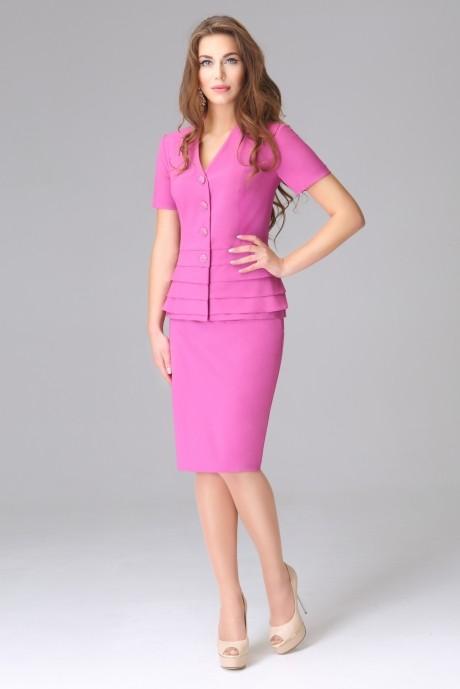 Юбочные костюмы /комплекты Lissana 2585/1 розовый
