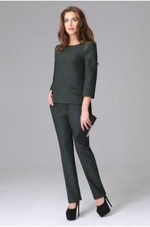Брючные костюмы /комплекты Lissana 2655 темно-зеленый фото 1