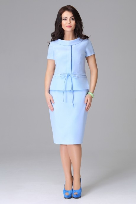 Юбочные костюмы /комплекты Lissana 2786 голубой