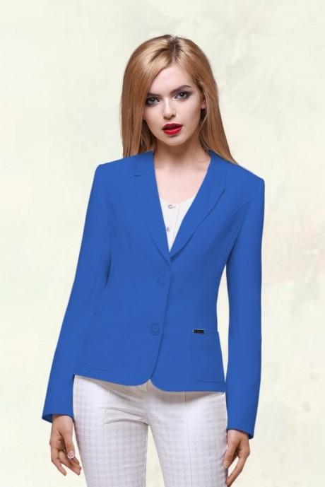 Жакеты (пиджаки) LeNata 11486-1 василёк