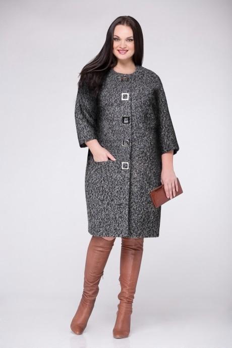 Пальто Надин-Н 1220_7 серый