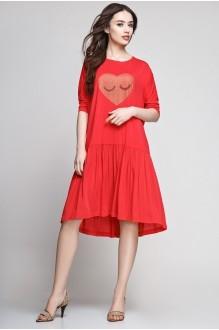 Летние платья Teffi Style 1183 красный фото 1