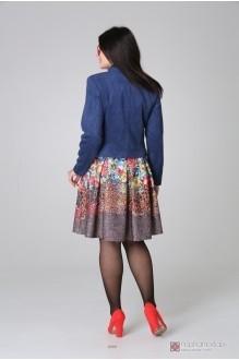 Жакеты (пиджаки) Нинель Шик 5380Ж синий фото 2