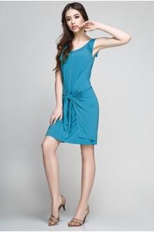 Летние платья Teffi Style 1172 тем. бирюза фото 1