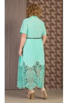 Длинные платья Aira Style 480 мята фото 2