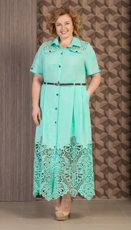Длинные платья Aira Style 480 мята
