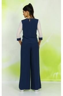 Брючные костюмы /комплекты ALANI COLLECTION 327 синий фото 3
