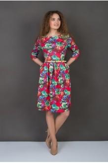 Повседневные платья ASPO design 832 K красный FashionCors фото 1