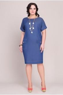 Повседневные платья Магия Моды 1028 синий фото 1