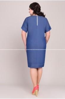 Повседневные платья Магия Моды 1028 синий фото 2