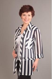 Блузки и туники Таир-Гранд 62216 полоска широкая фото 1