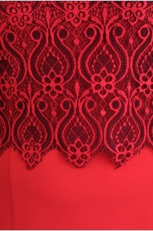 Деловые платья Diomant 989 красный фото 2