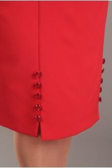 Деловые платья Diomant 989 красный фото 3