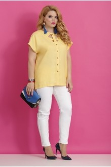 Блузки и туники Lissana 2783 светло-желтый фото 2