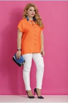 Блузки и туники Lissana 2783 оранжевый фото 1