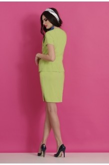 Юбочные костюмы /комплекты Lissana 2063 салат фото 2