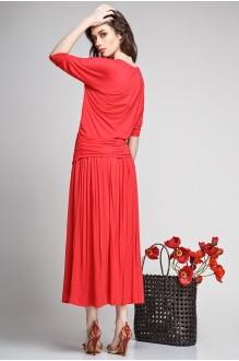 Юбочные костюмы /комплекты Teffi Style 1192 красный фото 2