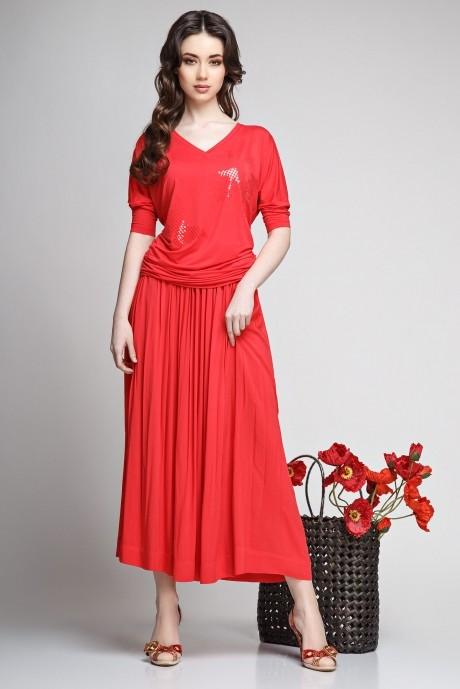 Юбочные костюмы /комплекты Teffi Style 1192 красный