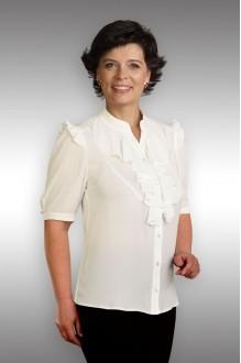 Блузки и туники Таир-Гранд 62215 (2) молочный фото 1