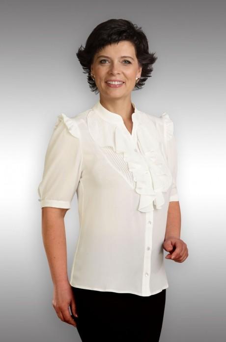 Блузки и туники Таир-Гранд 62215 (2) молочный