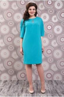 Повседневные платья Fashion Lux 809 бирюза фото 1