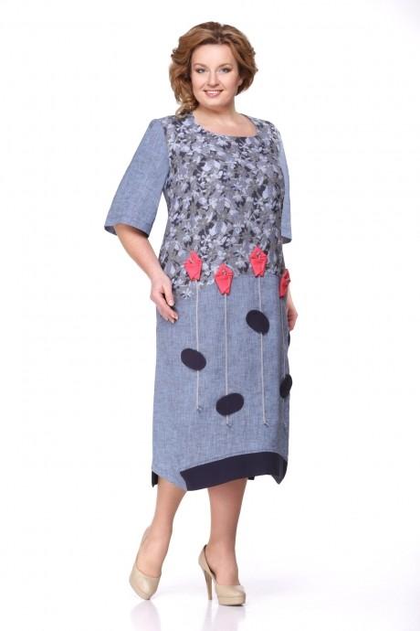 Повседневные платья Надин-Н 1276 джинс