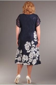 Вечерние платья Асолия 2215 синий фото 2