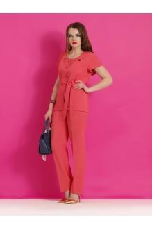 Брючные костюмы /комплекты Lissana 2858 коралл фото 1