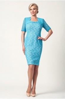 Вечерние платья Gold Style 1465 голубой фото 1