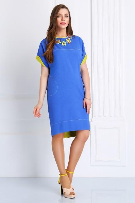 Повседневные платья Matini 3.988 синий