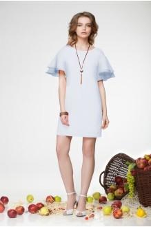 Летние платья LeNata 11681 голубой фото 1