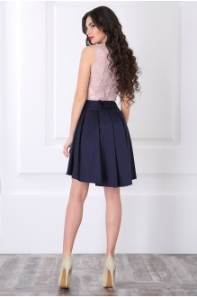 Вечерние платья ЛаКона 958 пудра/синий фото 3