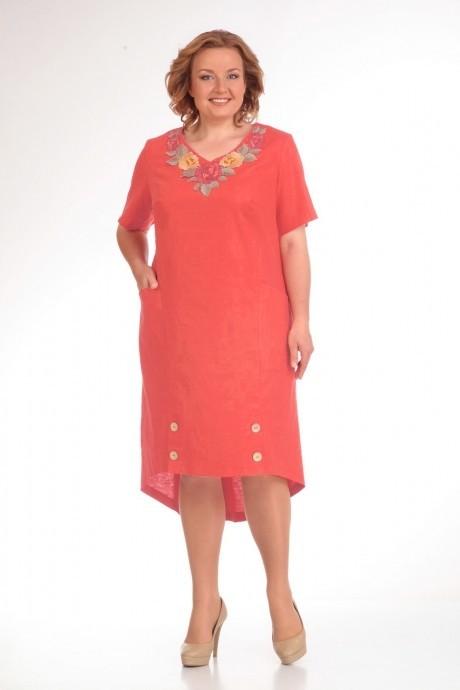 Летние платья Прити 444 коралл