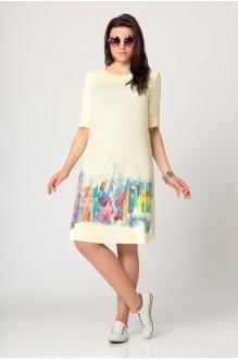 Повседневные платья Мублиз 990 лимон фото 1
