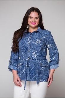 Жакеты (пиджаки) ЮРС 16-597 синий фото 1