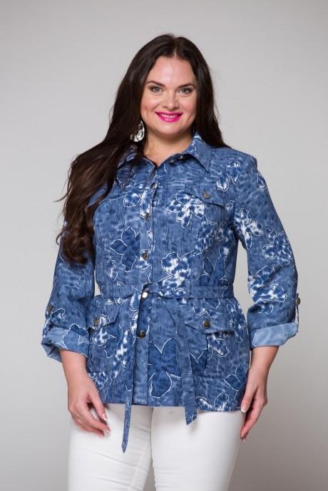 Жакеты (пиджаки) ЮРС 16-597 синий