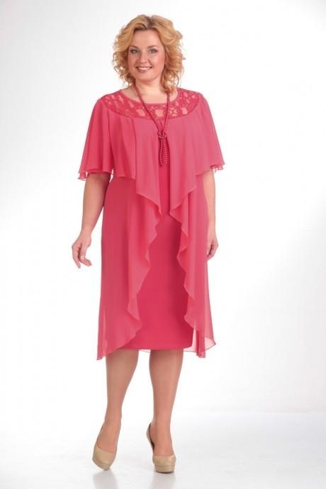 Вечерние платья Прити 168 розовый