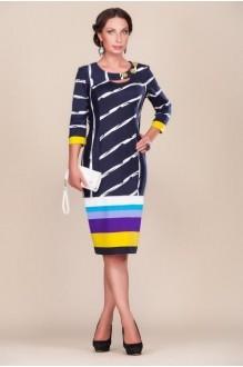 Повседневные платья Gold Style 1569 т.синий/черный фото 1