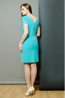 Повседневные платья Moda-Versal П-1462 бирюза фото 2