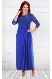 Длинные платья Camelia 15221 василек фото 1