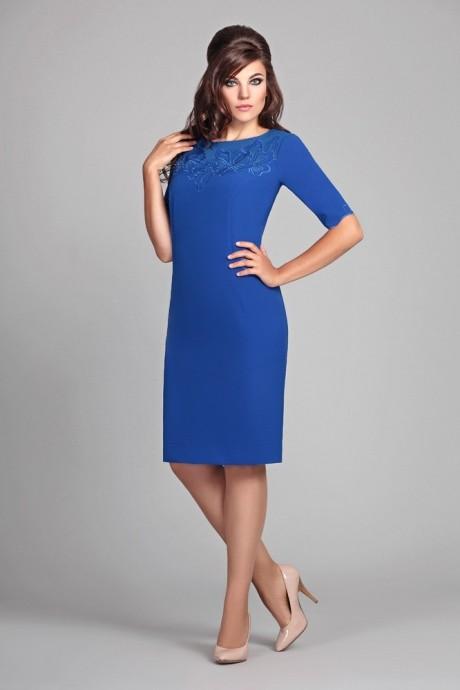 Повседневные платья Мублиз 014 синий