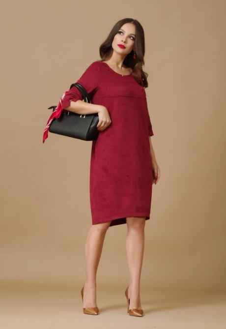Повседневные платья Lissana 2876 бордо