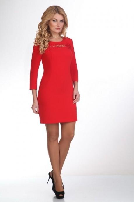Вечерние платья Нинель Шик 795 красный
