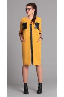 Повседневные платья Галеан-стиль 526 желтый фото 1