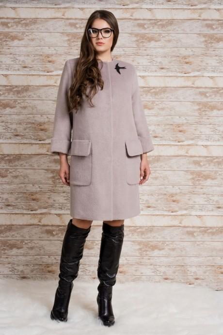 Пальто Prestige 2871 серый