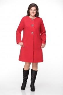 Пальто Надин-Н 1315 красный фото 1