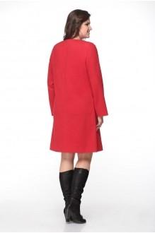 Пальто Надин-Н 1315 красный фото 2