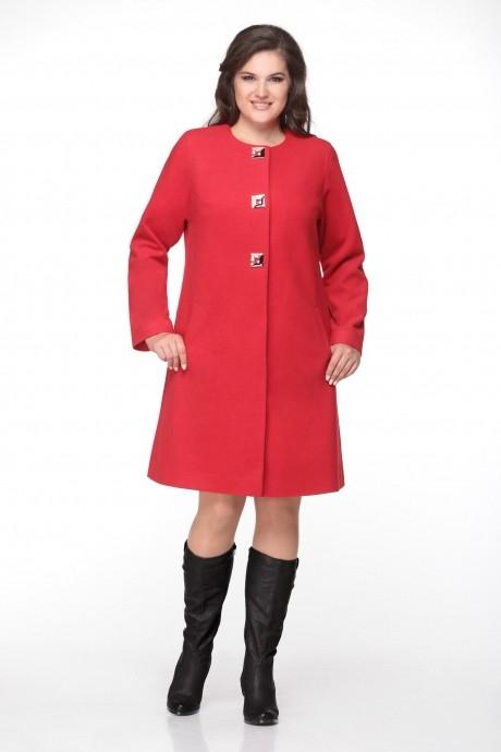 Пальто Надин-Н 1315 красный